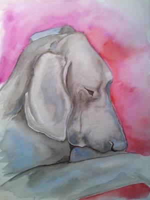 Miss Zoe Art Print