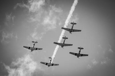Missing Man Formation Photograph - Missing Man by Jason Harry
