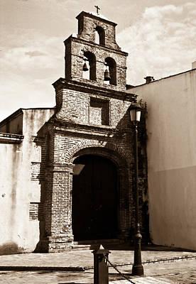 Crusifix Photograph - Mission Bells 1 by Douglas Barnett