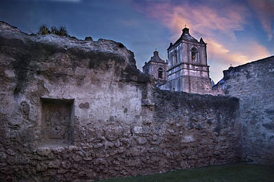 Social Mission Photograph - Mission Concepcion Early Morning by Melany Sarafis