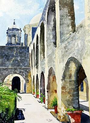 Mission San Jose Art Print by Tom Riggs