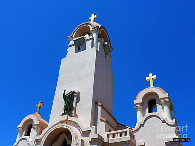 Photograph - Mission San Rafael Arcangel by Methune Hively
