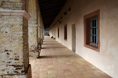 Photograph - Mission Santa Ines 2 by Bob Christopher