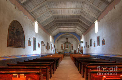 Photograph - Mission Santa Ines 3 by Bob Christopher