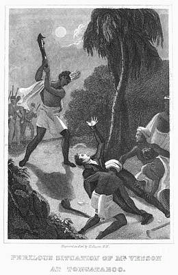 1797 Photograph - Missionary Attacked, 1797 by Granger