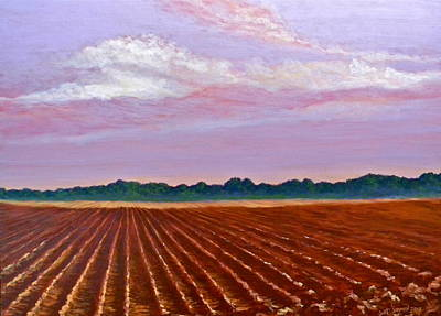 Mississippi Land And Sky Art Print by Jeanette Jarmon