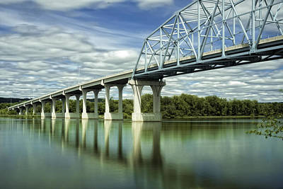 Art Print featuring the photograph Mississippi River At Wabasha Minnesota by Tom Gort