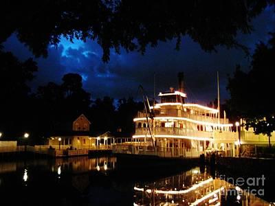 Mississippi River Boat Original
