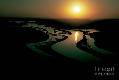 Photograph - Mississippi River: Sunrise by Granger