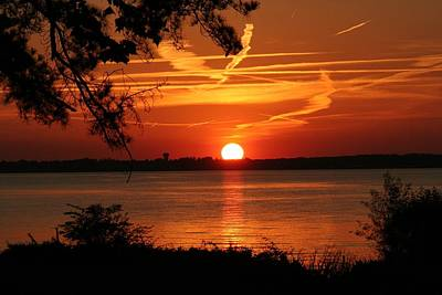Photograph - Mississippi Sunset 4 by Jim Albritton