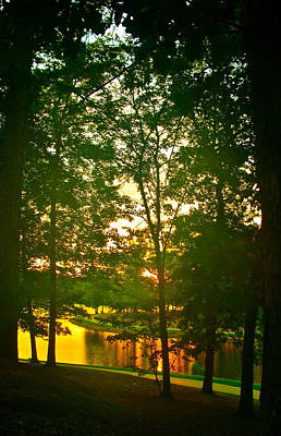 Photograph - Mississippi Sunset by Frank SantAgata