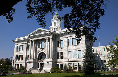 Photograph - Missoula County Courthouse by Larry Keahey