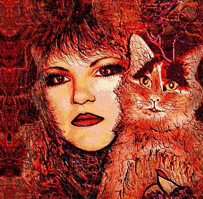 Missy And I Art Print
