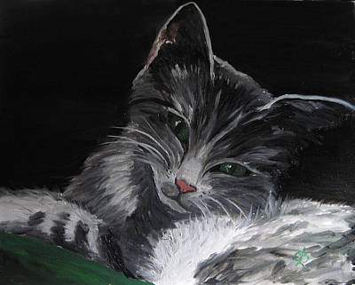 Painting - Missy by Claudia Croneberger