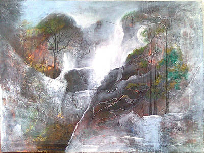 Painting - Mist by Jaffo Jaffer