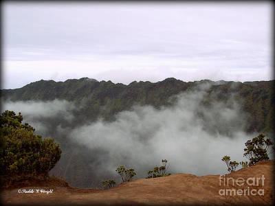 Photograph - Mists From The Kalalau Valley by Paulette B Wright