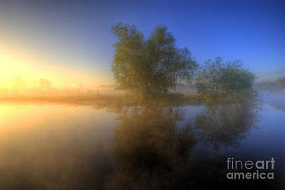 Misty Dawn 1.0 Art Print by Yhun Suarez