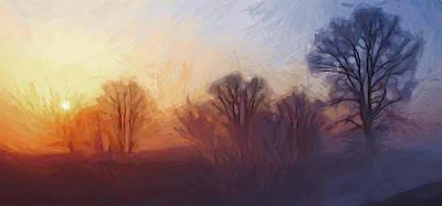 Misty Dawn Art Print by Steve K