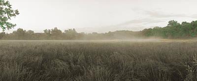 Misty Grounds Art Print by Jan W Faul