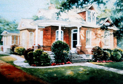 Artist Direct Order Painting - Misty Memories Of Home by Hanne Lore Koehler
