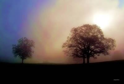 Art Print featuring the photograph Misty Morning by George Bostian