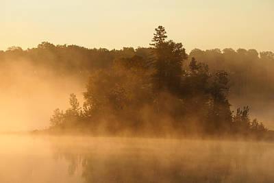 Misty Morning Art Print by George Ramondo