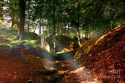 Howden Reservoir Photograph - Misty Morning by Nigel Hatton