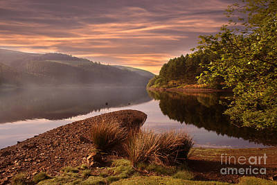 Howden Reservoir Photograph - Misty by Nigel Hatton