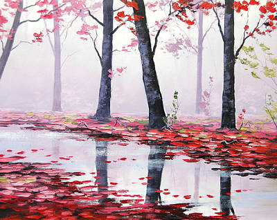 Misty Pink Art Print by Graham Gercken