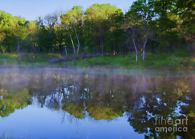 Photograph - Misty Reflections by Diana Cox