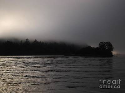 Photograph - Misty River by Erica Hanel