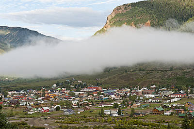 Photograph - Misty Silverton Colorado by Melany Sarafis