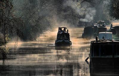 Stratford Photograph - Misty Start by Jacovos Jacovou