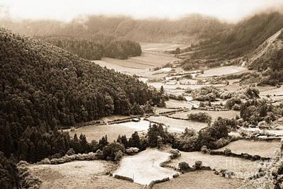 Sete Photograph - Misty Valley by Gaspar Avila