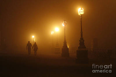 Misty Walk Art Print by Urban Shooters