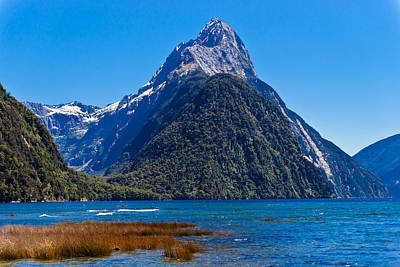 Photograph - Mitre Peak by Graeme Knox