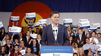 Painting - Mitt Romney No. 5 by Robert SORENSEN