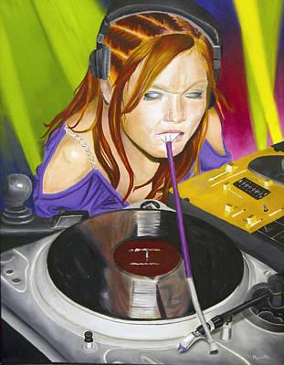 Mixtress Art Print