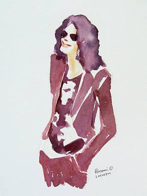 Mj Painting - Mj 2009 by Hitomi Osanai