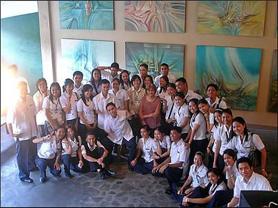 Photograph - Mjsn Nurses Visit by Glenn Bautista