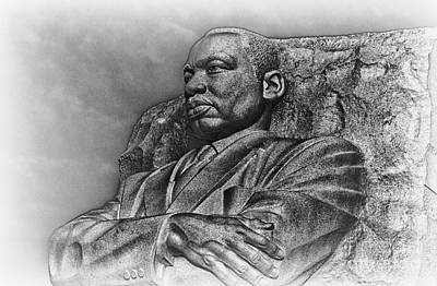 Mlk Memorial Art Print by Ursula Lawrence