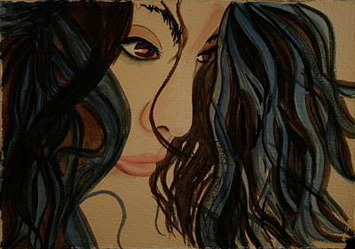 Art Print featuring the painting MMG by Teresa Beyer