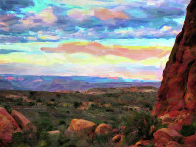 Digital Art - Moab Sky by Gary Baird