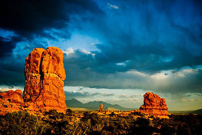 Photograph - Moab Utah  by Mickey Clausen