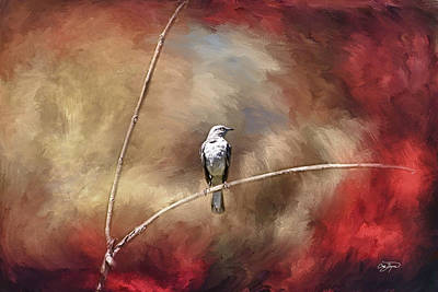 Lucille Ball - Mocking Bird in Oil  - Artist Cris Hayes by Cris Hayes