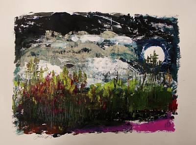 Mockingbird Drawing - Mockingbird's Song by John Williams