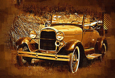 Photograph - Model A1 by Dale Stillman