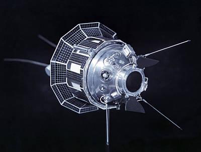 3 October Photograph - Model Of The Luna 3 Spacecraft by Ria Novosti