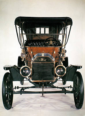Photograph - Model T Ford, 1910 by Granger
