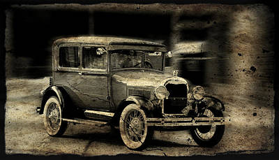 Art Print featuring the photograph Model T No. 2 by Janice Adomeit